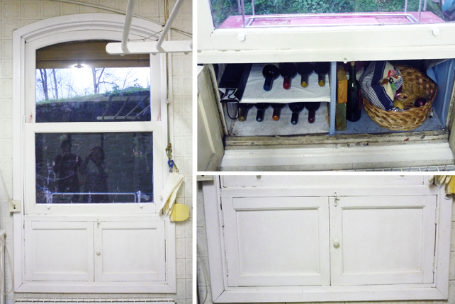 a ´fresquera´- a cupboard with no back to keep your food chilled.