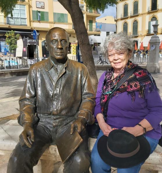 Marsha Scarbrough in Málaga