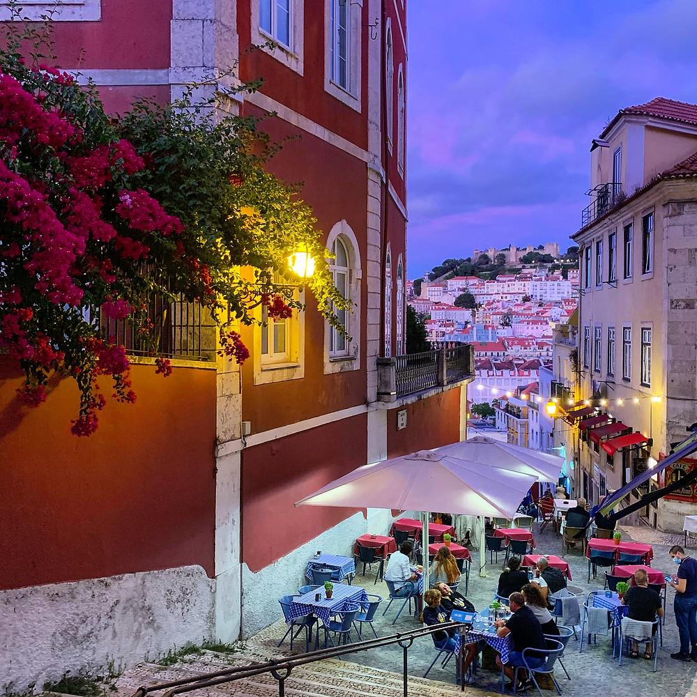 Street in Bairro Alto, Lisbon