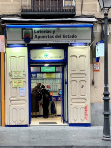 State Lottery office in La Latina, Madrid