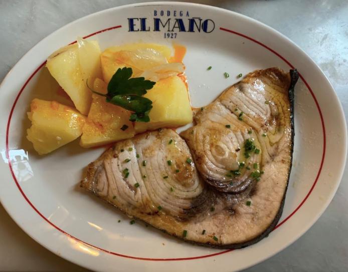 Swordfish & Potatoes @ Bodega El Maño
