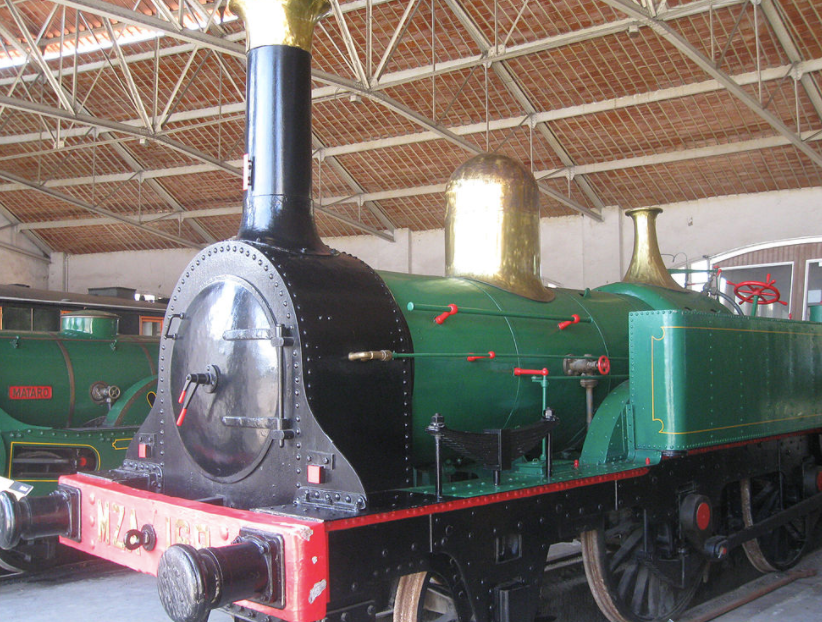 Martorell - The oldest original locomotive in Spain from 1854