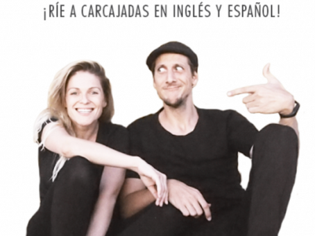 Madrid's comedy scene with comedians Tricia Audette & Juan Dávila - When in Spain podcast episode 57