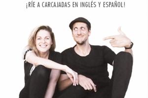 Trica Audette with partner and comedy partner Fernando García Torres