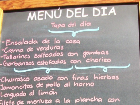 Secrets of the Menú del Día - The history & future of Spain's lunchtime meal deal - Episode 59