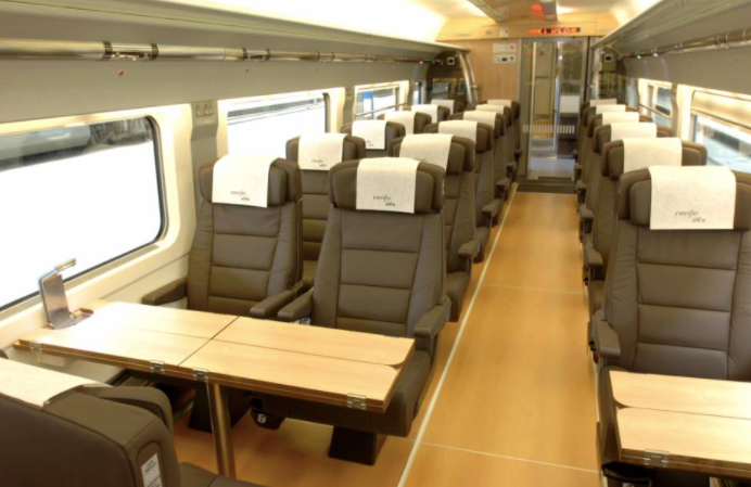 The AVE First Class (Preferente)