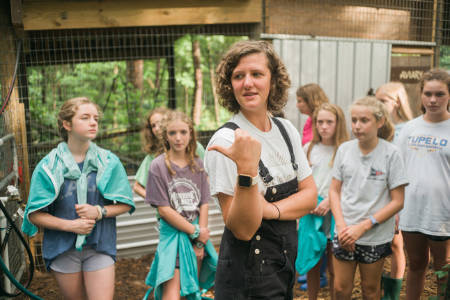 Touring the Aviary with Kate