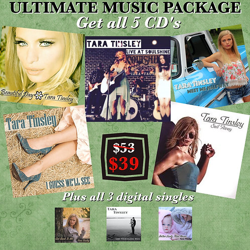 Ultimate Music Package (Autographed)