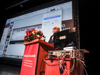 Prof. Zucchelli 演講大會結合最夯3D眼鏡、VR虛擬實境、AR擴增實境!