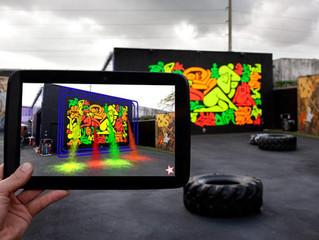 城市腦內啡「聚」-擴增實境(AR)讓公共藝術動起來!