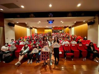 10.14 米菲執行「成功女力老闆講堂」,獲得熱烈回響