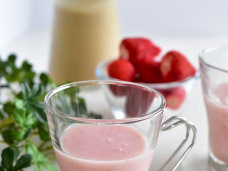 イチゴと甘酒のドリンク 甘酒の作り方