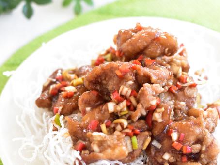 中華風鶏の唐揚げ