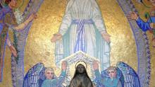 La moinelle s'envole à Lourdes
