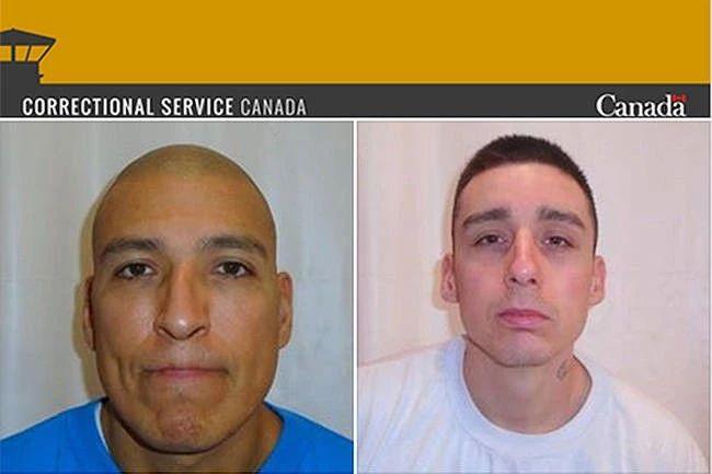 两名极度危险的维多利亚越狱犯被抓到了!