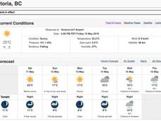 温哥华岛及BC省多地气温破记录,一岁多婴儿热死车中