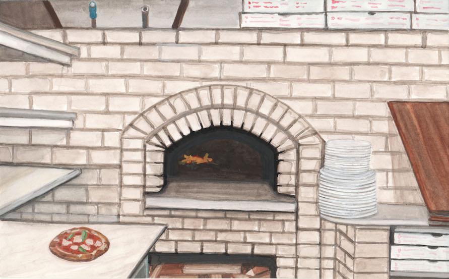Pizza, Lil' Frankies, NY 2018