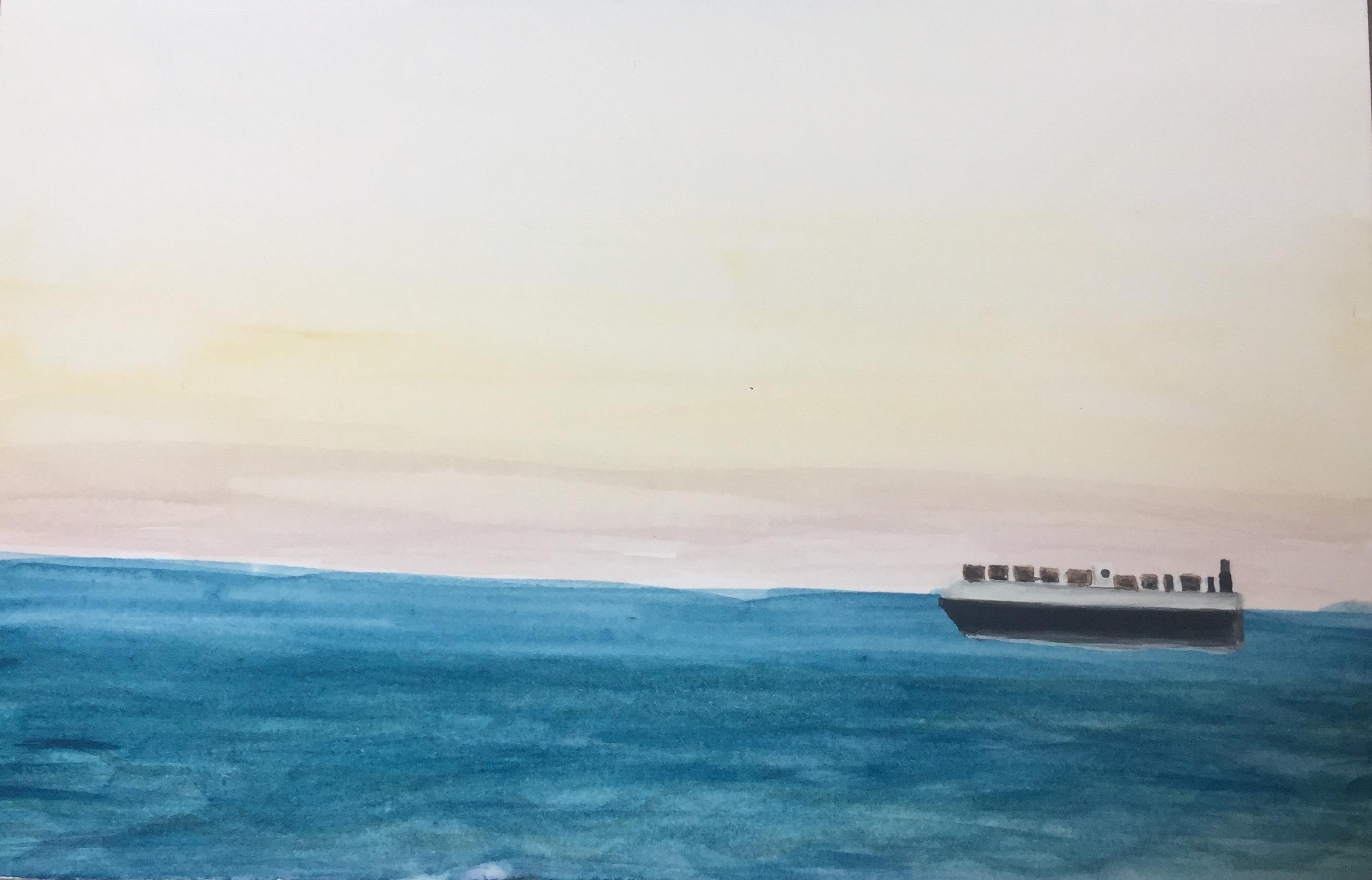 Cargo Ship, 2020