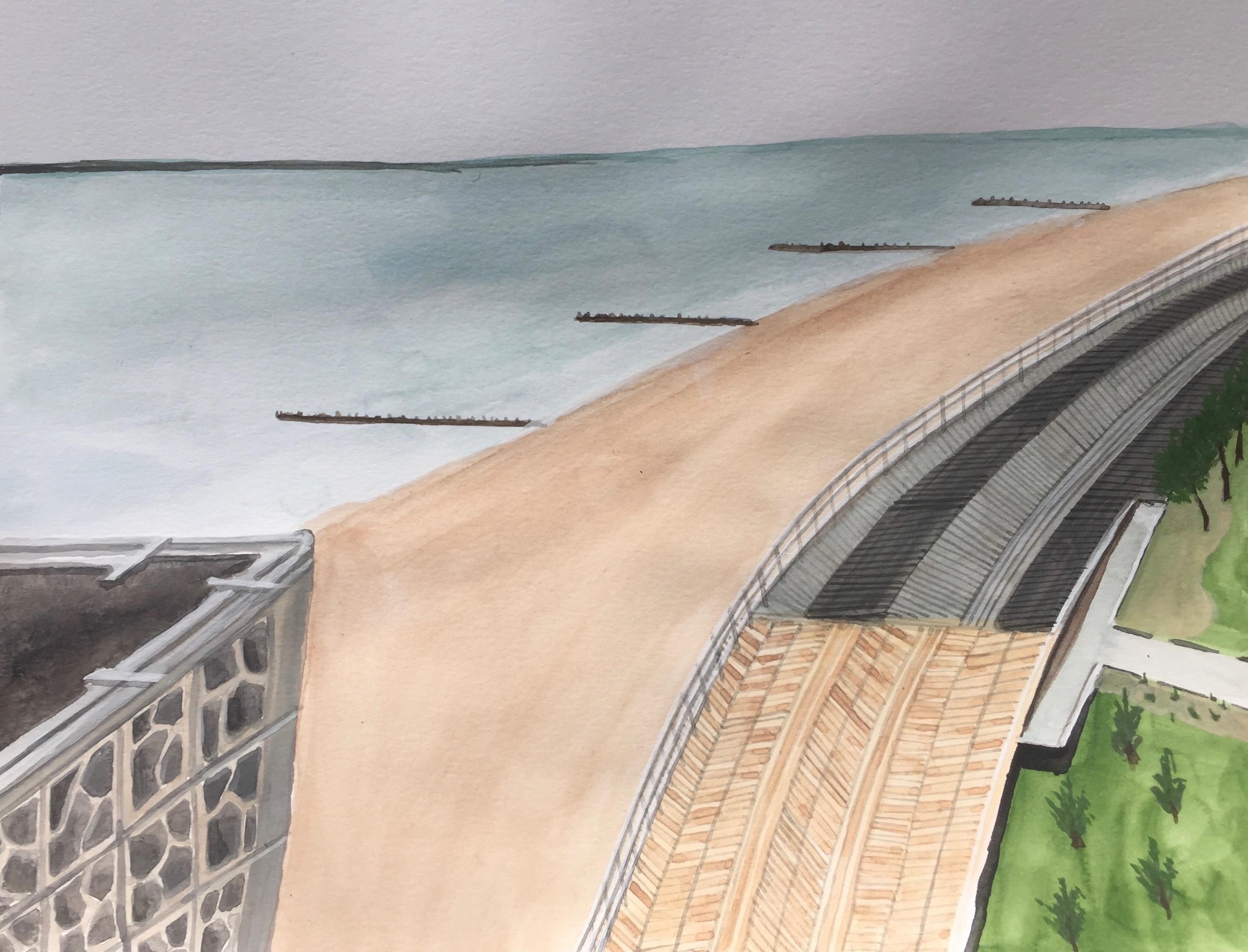 Coney Island Boardwalk, 2020