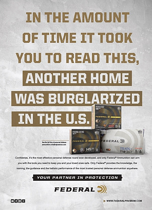 FEDERAL PREMIUM PARTNERS IN PROTECTON - TIME