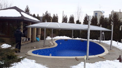 Накрытие на бассейн