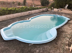 композитный бассейн Балатон 8 м