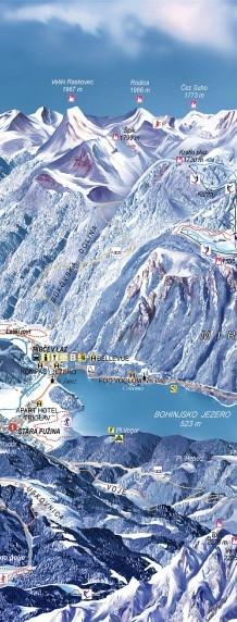 Bohinj (zimska panorama)