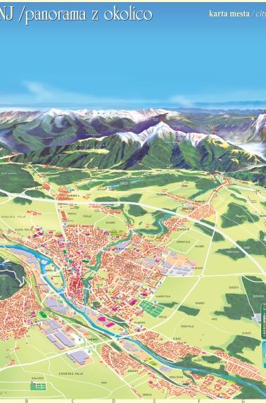 Kranj, mestni načrt