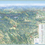 Slovenija, zloženka 70x50 cm