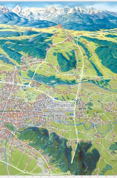 Ljubljana, mestni načrt