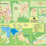 Bohinj, mestni načrti, A3 format
