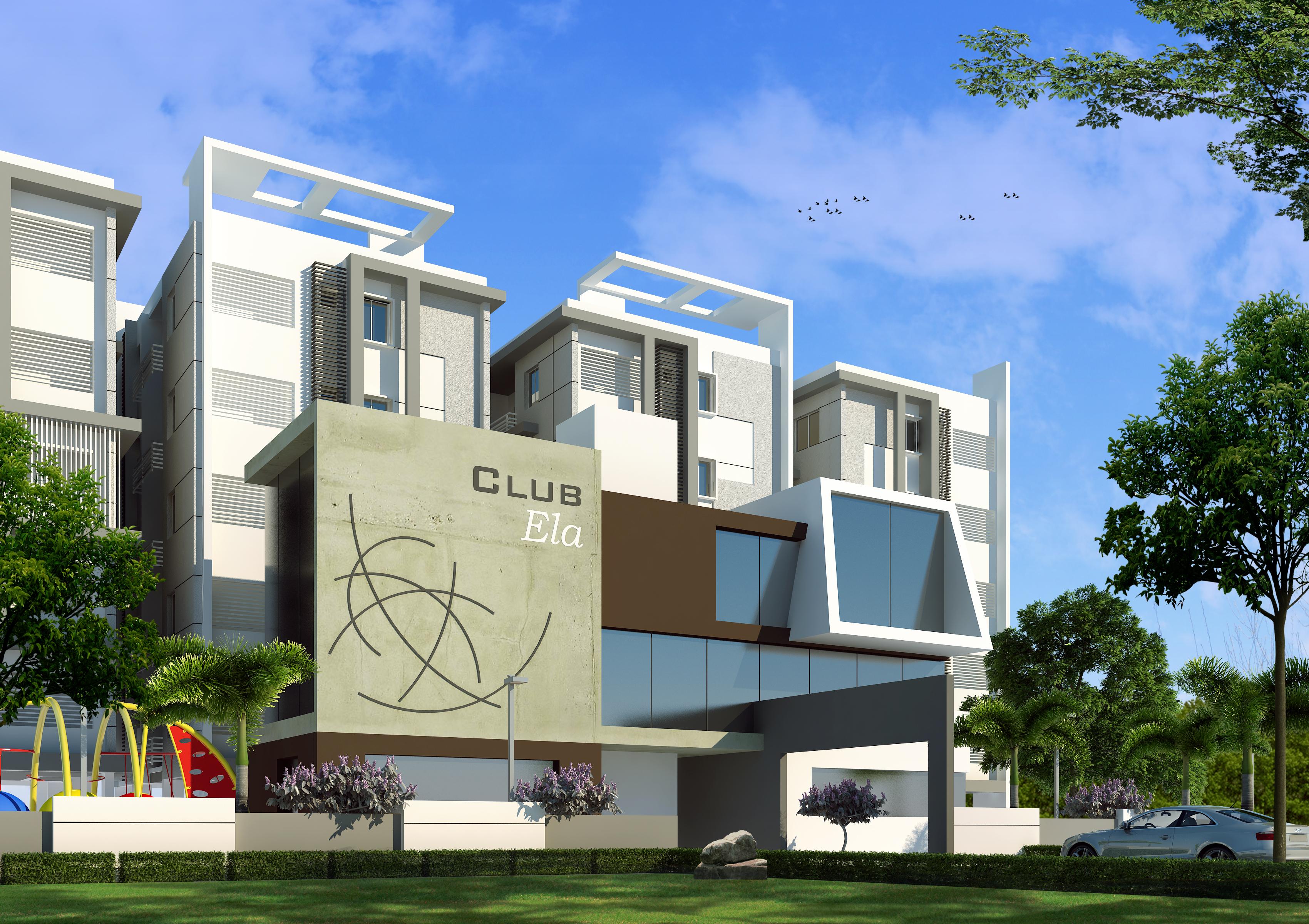 Club house view