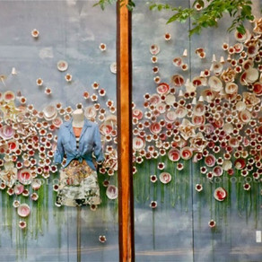 The Art of Window Displays: Local Artist Feature Holly Wright