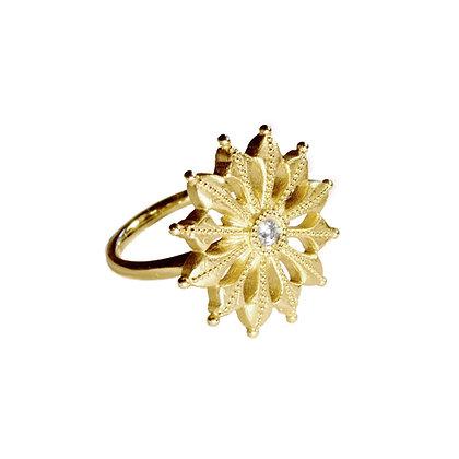 Bloom Medallion Ring