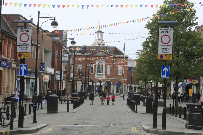 High Wycombe Town Centre