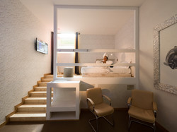 upper level with bedroom