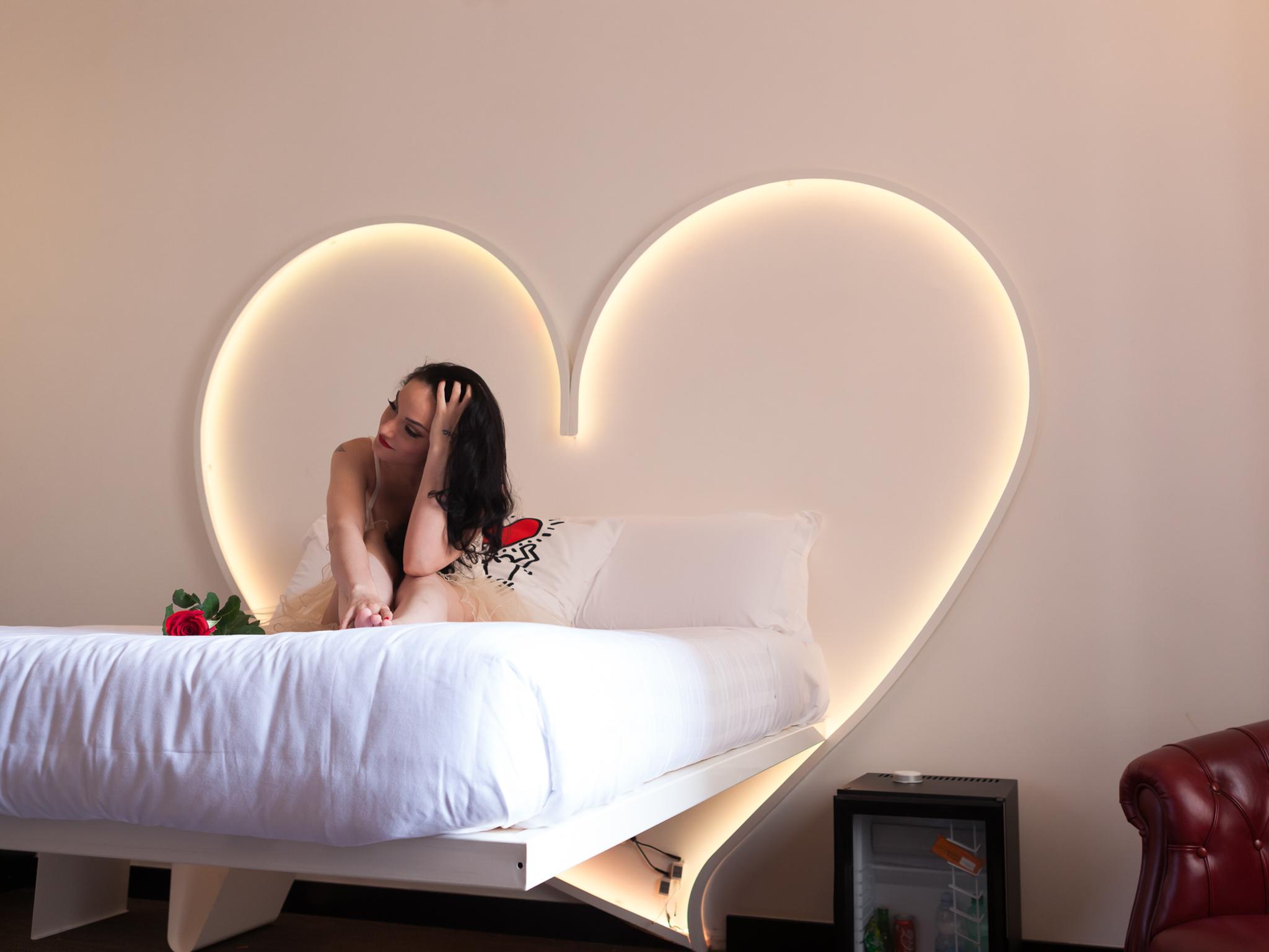 Romantic Setting in room