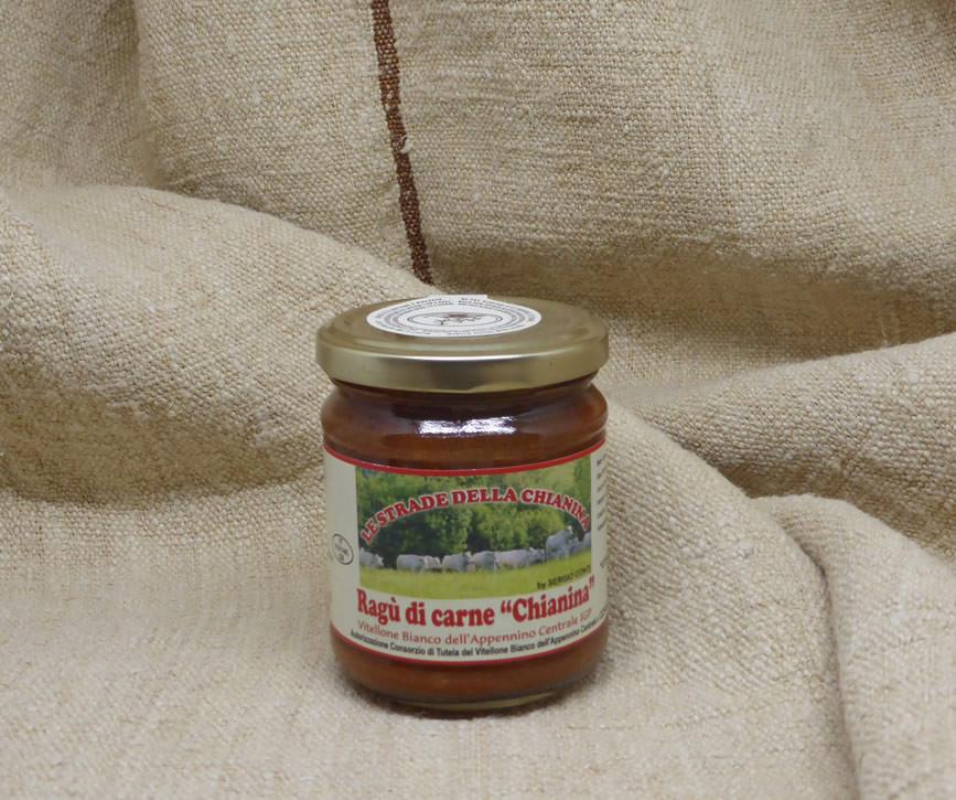 Tomatenragu mit Kalb