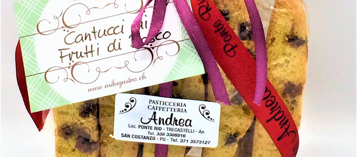 Cantucci ai Frutti di Bosco saisonal