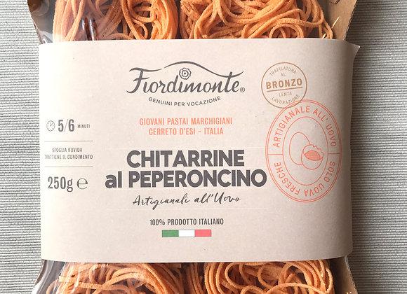 CHITARRINE mit Peperoncino