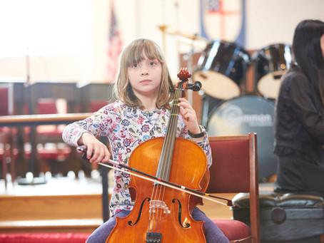 JETZT NEU: Violoncellounterricht in Niebüll