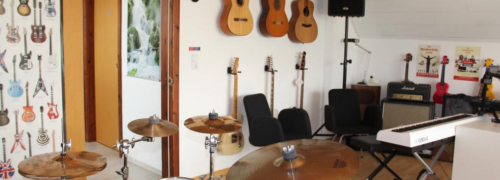 Auswahl an Instrumenten