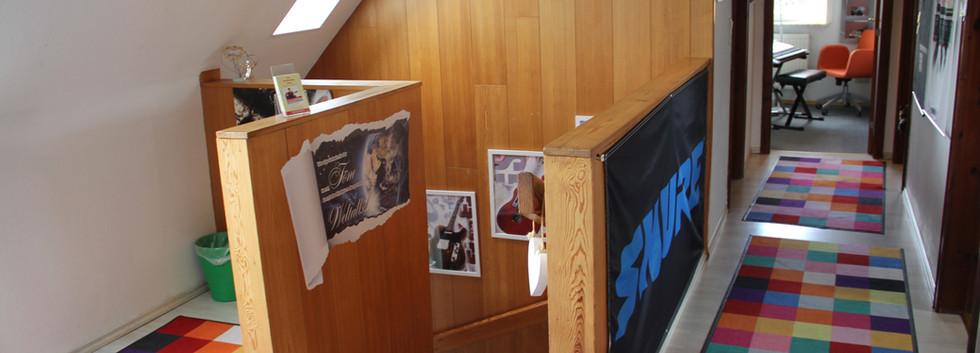 Räumlichkeiten der Musikschule Niebüll