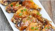 Honey garlic chicken wings.JPG