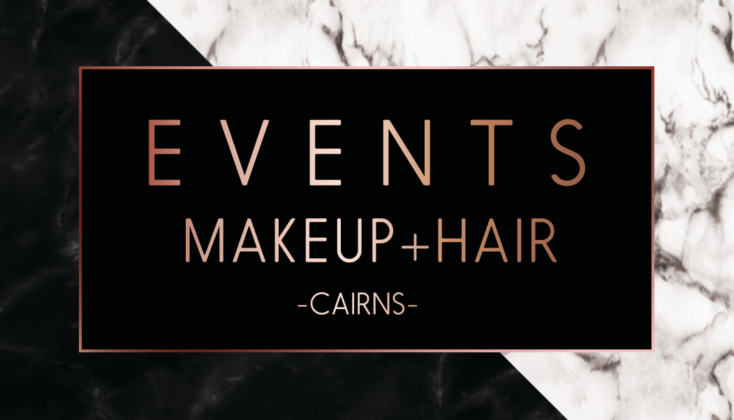 Events Makeup + Hair B.Card (front)