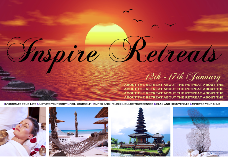 Inspire Retreat Postcard