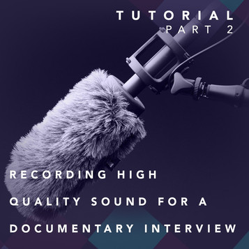 Recording High-Quality Sound For A Documentary Interview - Part 2