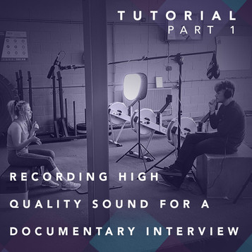 Recording High-Quality Sound For A Documentary Interview - Part 1