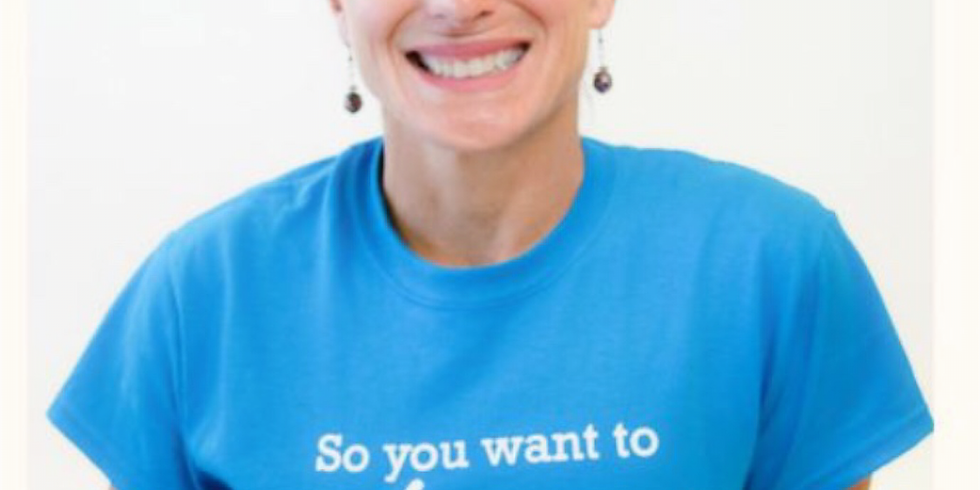 """June Luncheon - """"Laughter Yoga"""" with Pam Connolly"""