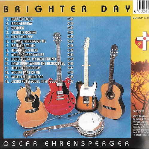 BRIGHTER DAY CD